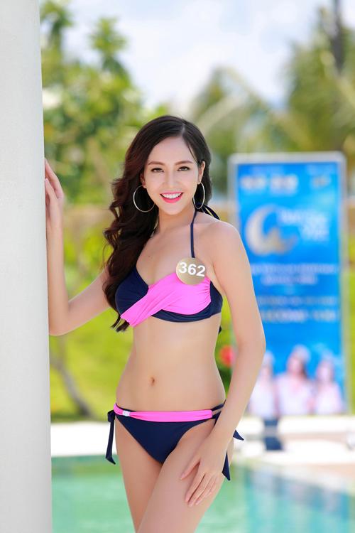 Dàn thí sinh hoa hậu Mỹ gốc Việt nóng bỏng với bikini - 11