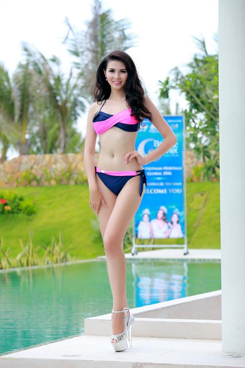 Dàn thí sinh hoa hậu Mỹ gốc Việt nóng bỏng với bikini - 14