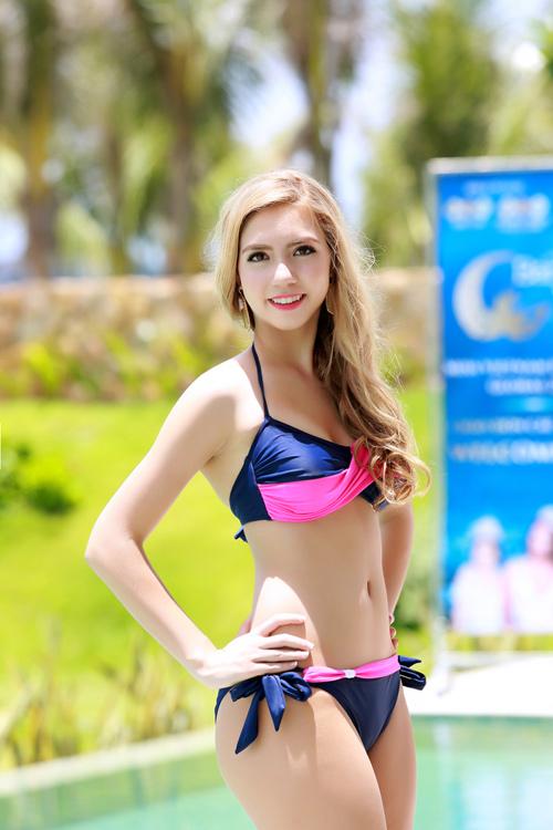 Dàn thí sinh hoa hậu Mỹ gốc Việt nóng bỏng với bikini - 13