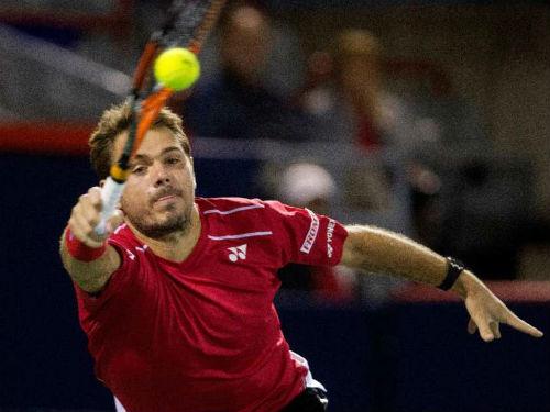 """Rogers Cup ngày 2: Wawrinka """"lết"""" vào vòng trong - 1"""