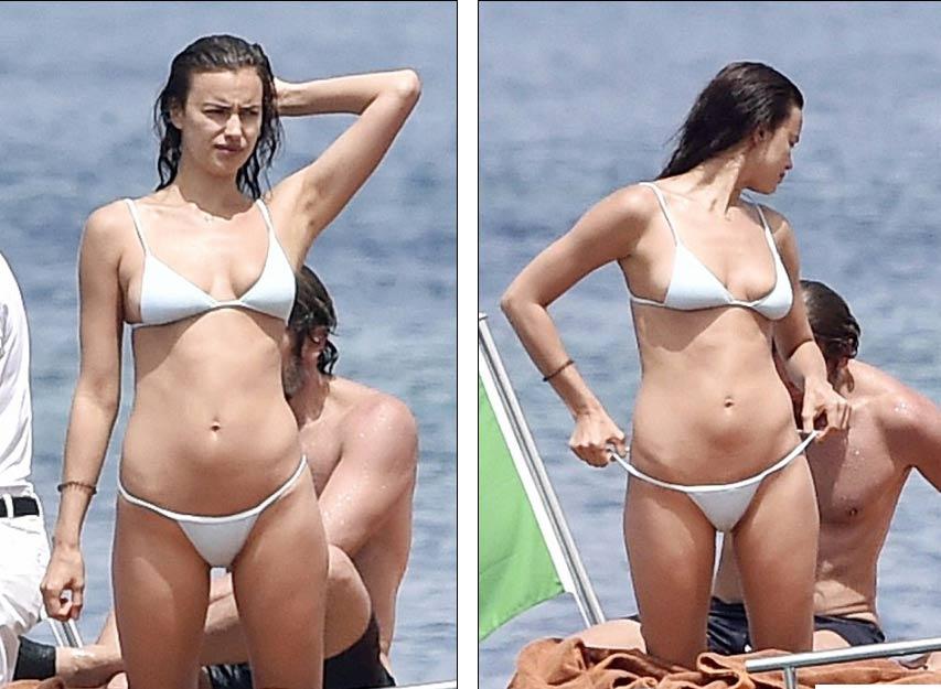 Irina Shayk diện bikini nhỏ xíu, gợi cảm bên người tình - 6