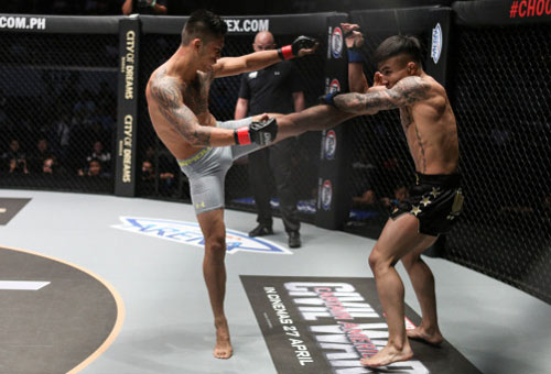 MMA: Võ sĩ gốc Việt đả bại nhà vô địch Trung Quốc - 1