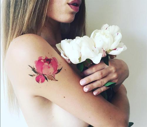 Ngỡ ngàng với hình xăm hoa lá đẹp tới mức nín thở - 18