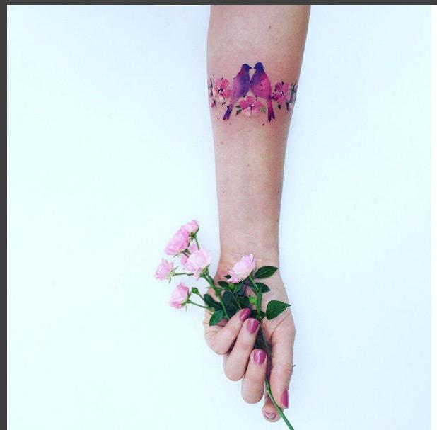 Ngỡ ngàng với hình xăm hoa lá đẹp tới mức nín thở - 14