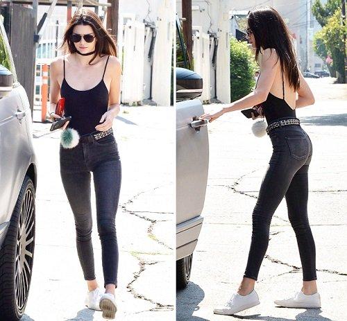 """Kendall Jenner thích mặc """"thả rông"""" để sexy hơn - 10"""