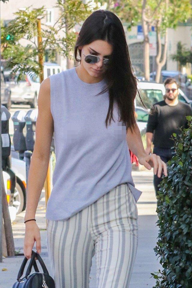 """Kendall Jenner thích mặc """"thả rông"""" để sexy hơn - 11"""