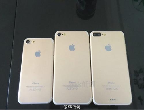 Bộ 3 iPhone 7, 7 Plus và 7 Pro xuất hiện cùng lúc - 1