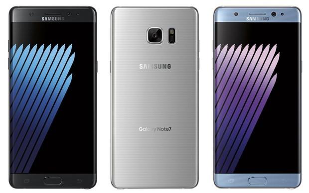 Ngắm Galaxy Note 7 trong sắc vàng, xanh, bạc - 1