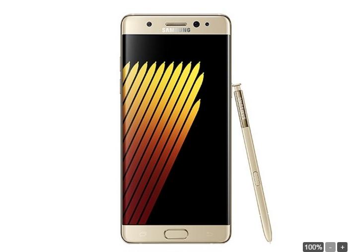 Ngắm Galaxy Note 7 trong sắc vàng, xanh, bạc - 4