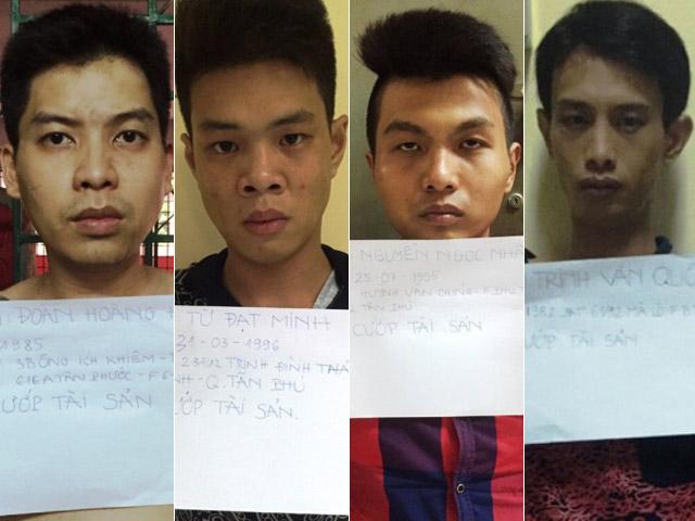 Bắt băng cướp kề dao vào cổ cô gái, cướp iPhone ở Sài Gòn - 2