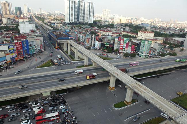 Ảnh: 12 nhà ga đường sắt Cát Linh-Hà Đông dần thành hình - 1