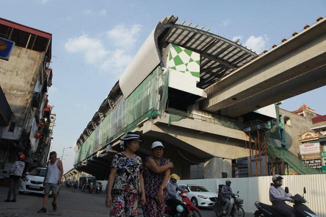 Ảnh: 12 nhà ga đường sắt Cát Linh-Hà Đông dần thành hình - 3