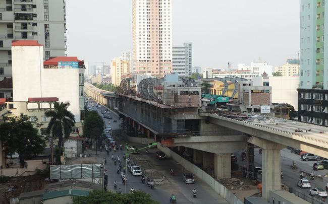 Ảnh: 12 nhà ga đường sắt Cát Linh-Hà Đông dần thành hình - 6