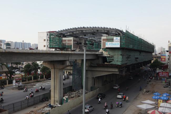 Ảnh: 12 nhà ga đường sắt Cát Linh-Hà Đông dần thành hình - 5