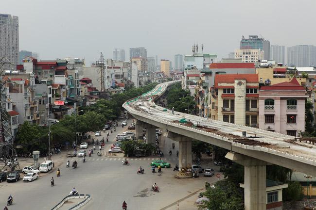 Ảnh: 12 nhà ga đường sắt Cát Linh-Hà Đông dần thành hình - 2