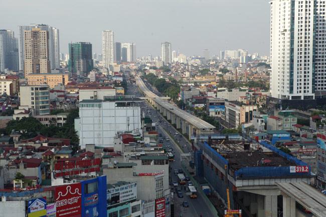 Ảnh: 12 nhà ga đường sắt Cát Linh-Hà Đông dần thành hình - 7