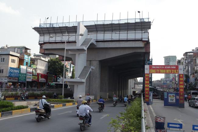 Ảnh: 12 nhà ga đường sắt Cát Linh-Hà Đông dần thành hình - 8