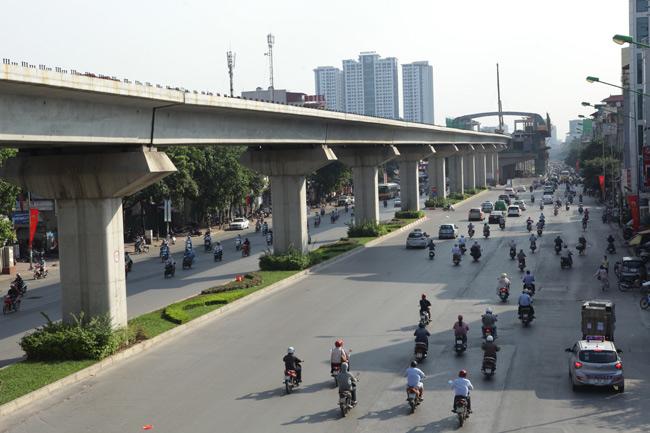 Ảnh: 12 nhà ga đường sắt Cát Linh-Hà Đông dần thành hình - 9