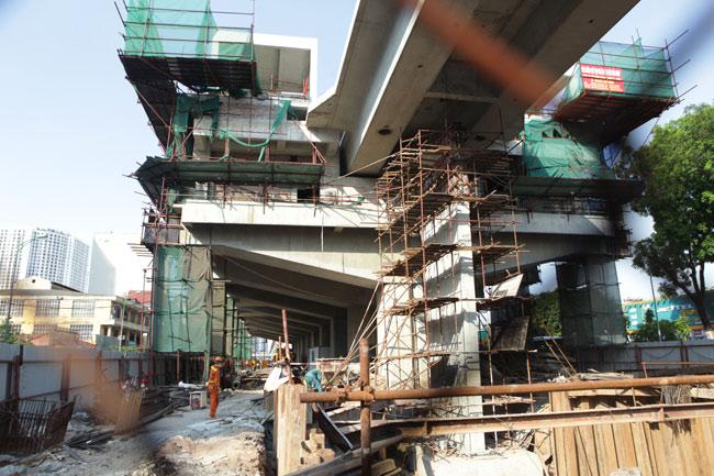 Ảnh: 12 nhà ga đường sắt Cát Linh-Hà Đông dần thành hình - 10
