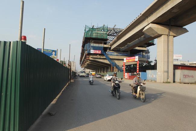 Ảnh: 12 nhà ga đường sắt Cát Linh-Hà Đông dần thành hình - 12