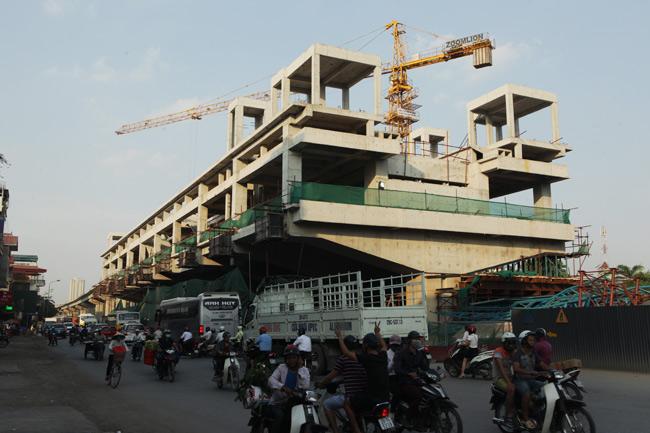 Ảnh: 12 nhà ga đường sắt Cát Linh-Hà Đông dần thành hình - 13