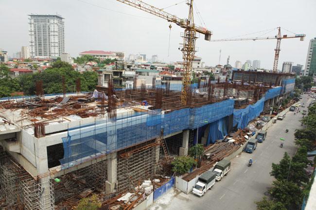 Ảnh: 12 nhà ga đường sắt Cát Linh-Hà Đông dần thành hình - 15