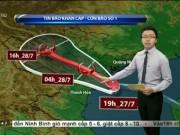 Bão số 1 ảnh hưởng từ Quảng Ninh đến Thanh Hóa