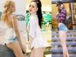 Đời sống Showbiz - Mỹ nhân Việt mặc quần ngắn như nội y đi chơi gây sốc