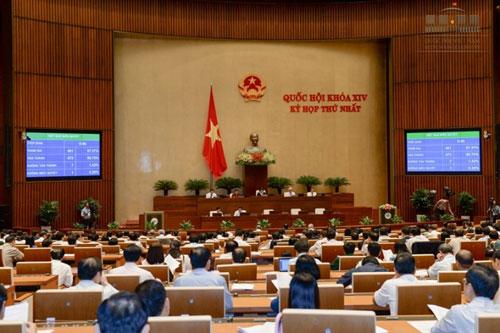 Sáng nay, QH phê chuẩn các Phó Thủ tướng và Bộ trưởng - 1
