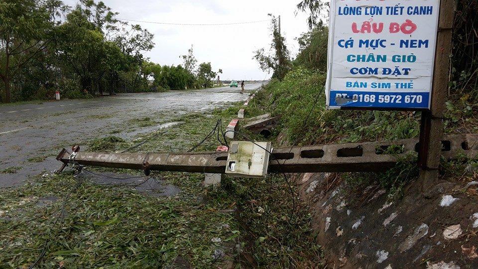 Bão số 1 càn quét, các tỉnh ven biển miền Bắc thiệt hại nặng nề - 11