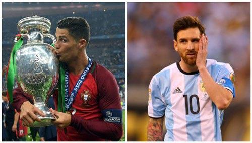 Messi ngang Ronaldo top 10 VĐV hàng đầu thế giới - 1