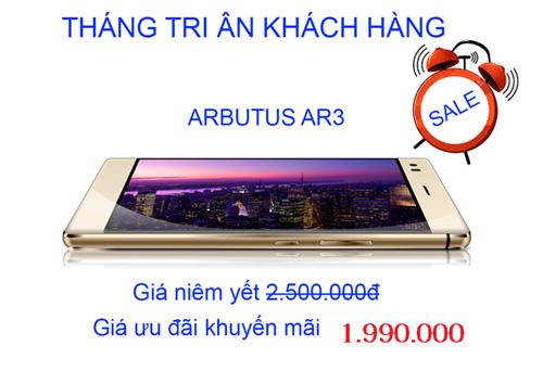 Đổ xô đi mua Arbutus AR3 giảm giá còn 1.990.000đ - 1