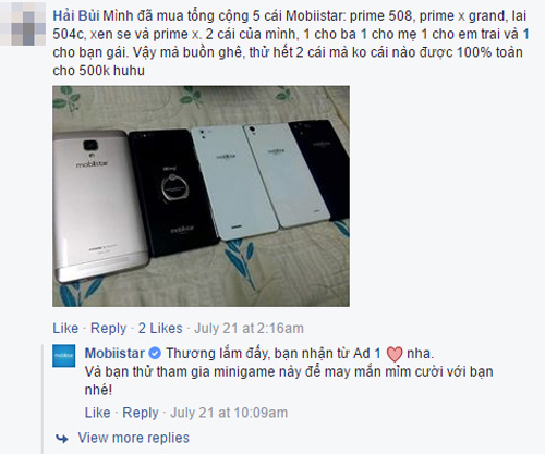 Khách hàng Mobiistar: Điện thoại là người bạn đồng hành có giá trị tinh thần đặc biệt - 5