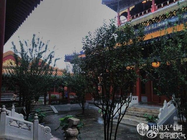 Bắc Kinh ngập sâu trong biển nước trừ Tử Cấm Thành - 2