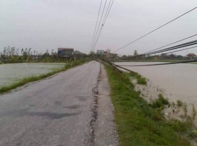 Bão số 1 càn quét, các tỉnh ven biển miền Bắc thiệt hại nặng nề - 14