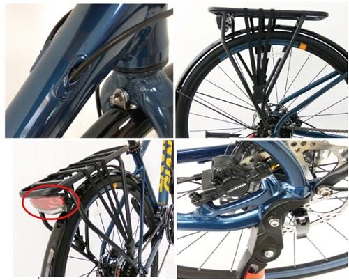 2017 FCR 3300 mẫu xe đạp city mới độc đáo - 6
