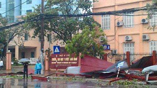 Bão số 1 càn quét, các tỉnh ven biển miền Bắc thiệt hại nặng nề - 16