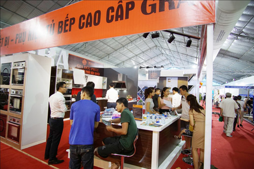 Thương hiệu bếp GRA chào đón khách hàng thăm quan tại Vietbuild - 4