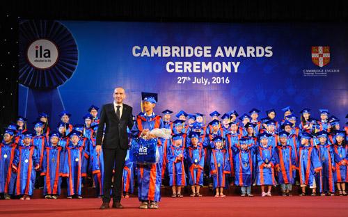 ILA tổ chức buổi lễ trao chứng chỉ Anh ngữ Quốc tế của Đại học Cambridge - 2