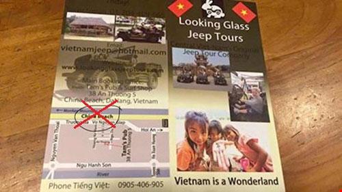 Tịch thu poster xuyên tạc biển Đông thành biển TQ - 1