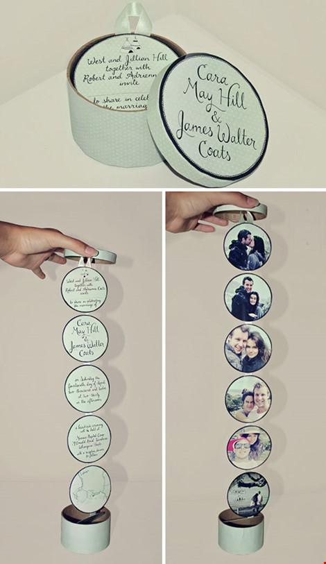 Những mẫu thiệp cưới cực chất dành cho các cặp đôi - 2