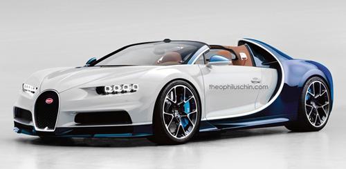 Bugatti Chiron sẽ không có phiên bản mui trần - 1
