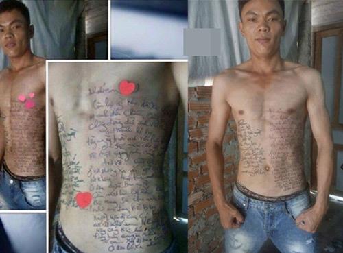 Fan cắn răng nén đau để xăm hình sao Việt lên người - 2