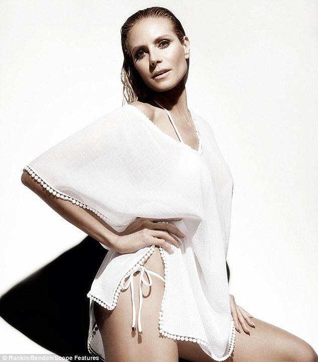 Siêu mẫu nóng bỏng Heidi Klum sợ bikini nhiều dây - 5