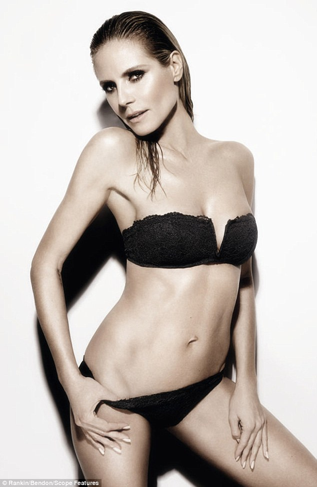 Siêu mẫu nóng bỏng Heidi Klum sợ bikini nhiều dây - 2