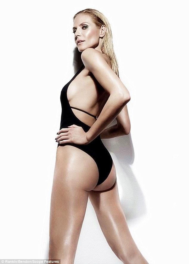 Siêu mẫu nóng bỏng Heidi Klum sợ bikini nhiều dây - 3