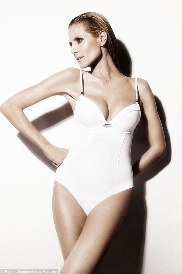 Siêu mẫu nóng bỏng Heidi Klum sợ bikini nhiều dây - 4