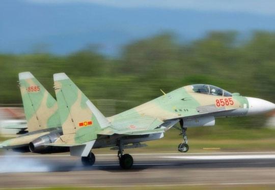 Ngừng tìm kiếm máy bay SU30-MK2 gặp nạn trên biển - 1