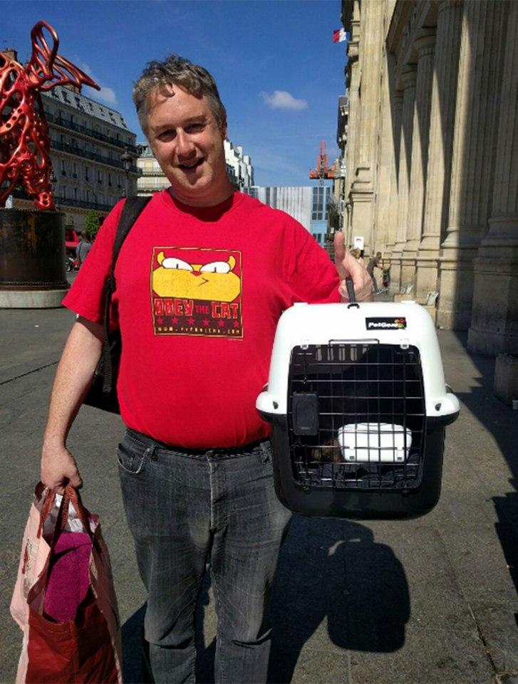 Chú mèo mất tích ở London, phiêu bạt qua biển đến Paris - 3