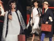 Thời trang - Thanh Hằng hóa thân quý cô thập niên 60